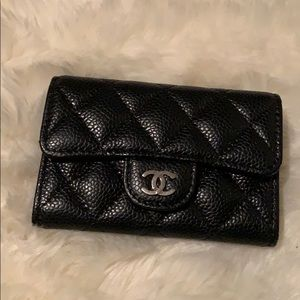 Chanel credit card holder